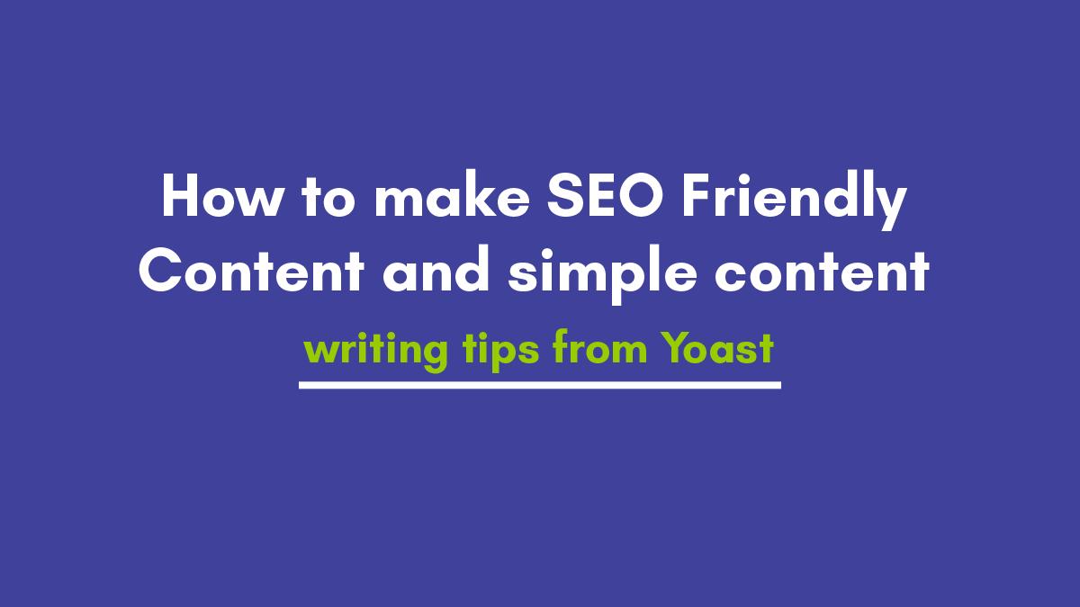 5 Tips to Write SEO friendly Blog Posts or Article