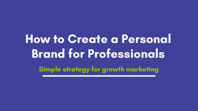 11 Tips to Create a Personal Brand for Beginners