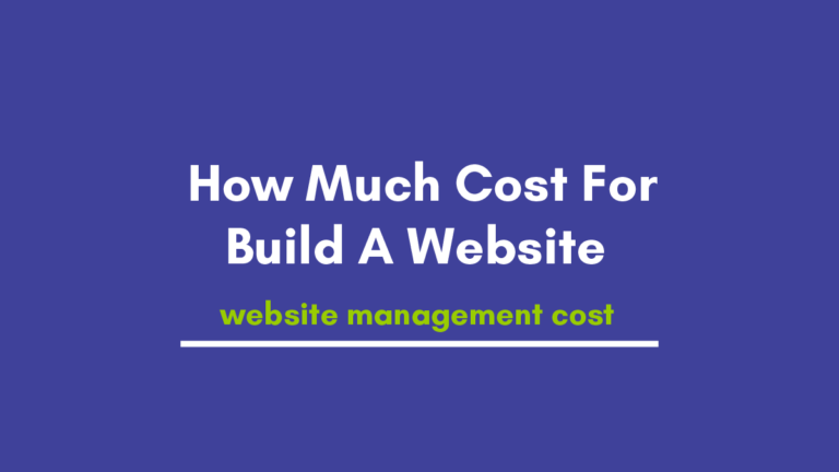 Everyone in India Wants to Know How Much Cost For Build A Website