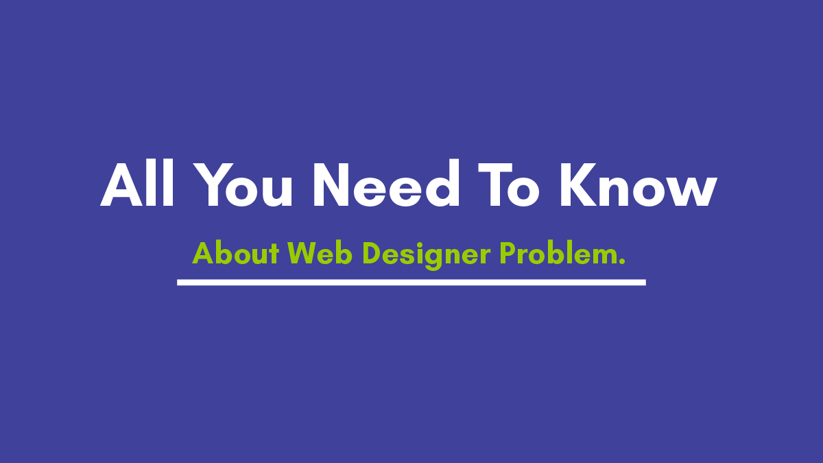 Most Interesting Facts about Web Designing Developer's Industry