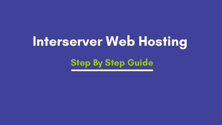 Interserver Shared and Cloud VPS Web hosting  Pricing review 2021