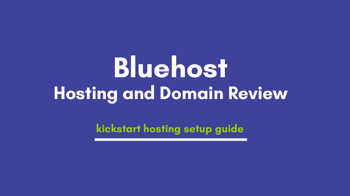 Bluehost Review 2021 – Excited Things Of Hosting Plans Makes Budget