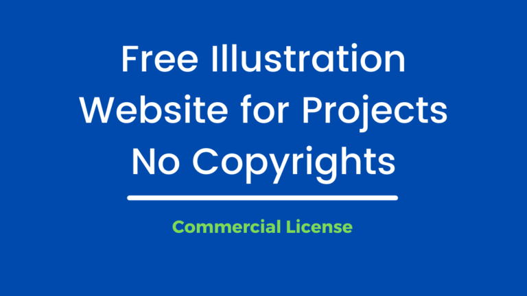 Free Vector Illustration for Projects and Websites with  Commercial use
