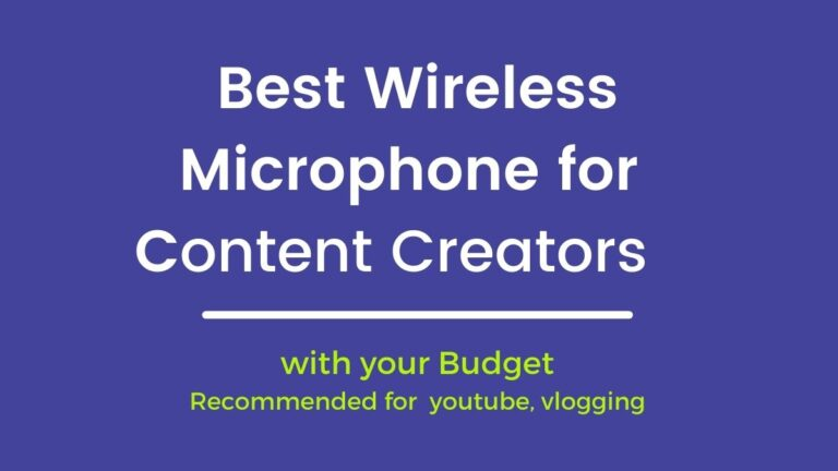 Best Wireless Collar Microphone for youtube and Filmmaking, Vlogging 2021 – Content