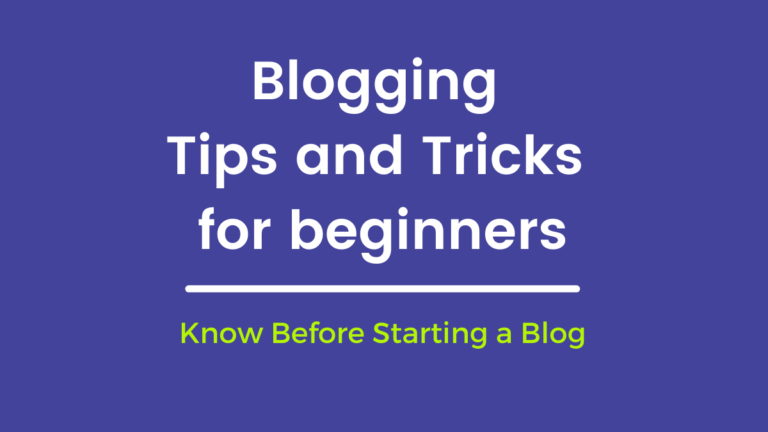7 Awesome Things You Can Learn From Studying Blogging Tips For Beginners.